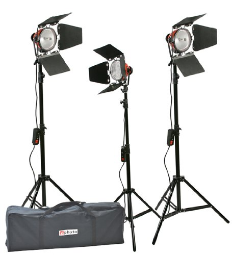 2400 Watt Barndoor Video Lighting Kit Light Kit-0