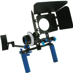 DSLR Rig Chest Camera Stabilizer Mount Follow Focus Matte Box for 5D, 7D, 60D, T2i, T3i, 550D RL002FM-0