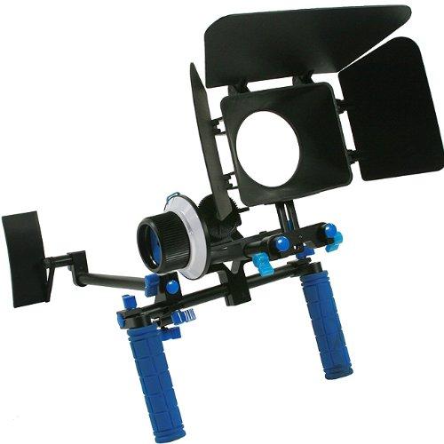 DSLR Rig Chest Camera Stabilizer Mount Follow Focus Matte Box for 5D, 7D, 60D, T2i, T3i, 550D RL002FM-0