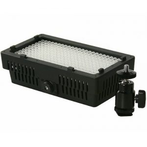 Professional 240 LED Bi Color Video Light Panel l W/ Color Temperature Switch 3200K-5400K & Brightness Dimmer CN240CH-906