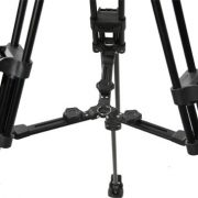 Fancierstudio Professional Video Camera Tripod FC-370 Pro Video Camera Tripod with Fluid Head By Fancierstudio FC-370-298