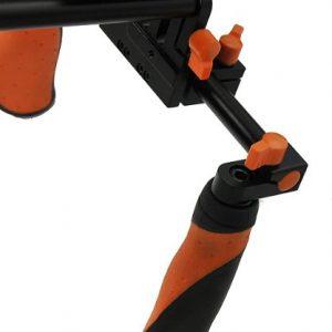 DSLR Shoulder Rig Shoulder Mount Rod Support and Matte Box RL02RMatte-1165