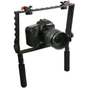 Handheld Professional DSLR Camera Video Cage for Nikon, Canon A033Cage-0