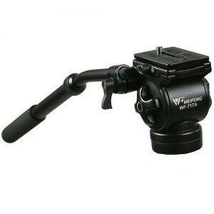 Professional Video Camera Fluid Drag Tripod Head 717AH-0