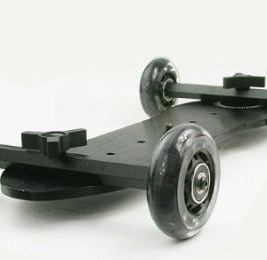 X Large Flex Dolly Digital DSLR Skater Camera Dolly Slider Table Top Dolly WYD350 -1626