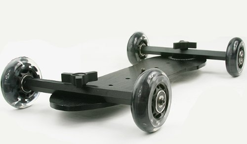 X Large Flex Dolly Digital DSLR Skater Camera Dolly Slider Table Top Dolly WYD350 -1626