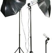 1000 Watt Video Lighting Umbrella Softbox Kit DK1000-0