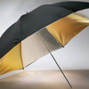 "40"" silver & Gold Photography Studio Portrait Umbrella-0"