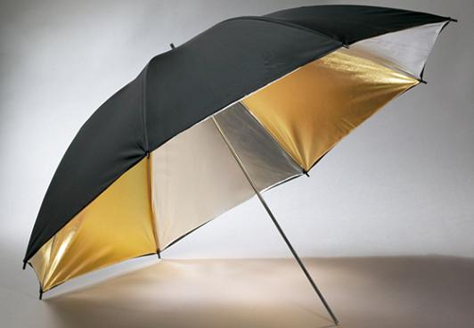 "40"" silver & Gold Photography Studio Portrait Umbrella-0"