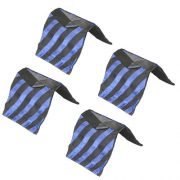 4PCS Heavy Duty Light Stand SANDBAG SAND BAGS HEAVY DUTY SADDLEBAG DESIGN HOLDS 20LBS MAX 4BLUE-0