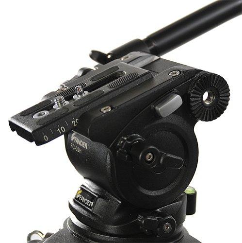 Fancierstudio Professional Video Camera Tripod FC-270 Pro Video Camera Tripod with Fluid Head By Fancierstudio FC-270-193