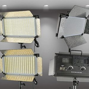 500 LED Light Panel V Mount Bi Color Led Light Panel Led Video Light Video Lighting By Fancierstudio FL500BI-1090