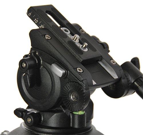 Fancierstudio Professional Video Camera Tripod FC-270 Pro Video Camera Tripod with Fluid Head By Fancierstudio FC-270-190