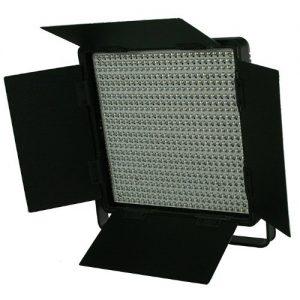 600 LED Video Lite Panel Studio Photography Lighting Sony V Mount, Dimmer Switch, 15V Output-0