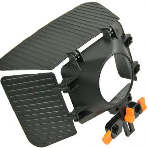 Matte Box for Shoulder Support Rig 15mm rod support follow focus DV GH2 600D MBoxO -1200