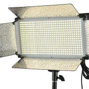 500 LED Light Panel V Mount Bi Color Led Light Panel Led Video Light Video Lighting By Fancierstudio FL500BI-1093