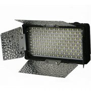 240CHB 240 LED Dimmable Hot Shoe Light with Barndoor and Diffuser-914