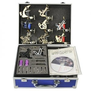 10 Gun Tattoo Kit Tattoo Machine Tattoo Gun By Fancier A01-0