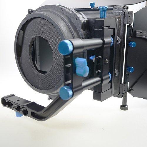 Professional DSLR RIG Shoulder Mount Follow Focus Whips, Crank, Matte Box Support System Kit Rig DSLR RLO3-1103