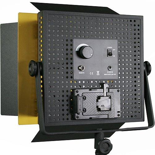 2 x 600 LED Photo Video Light Lighting Video Panel Light Stand Kit-1569