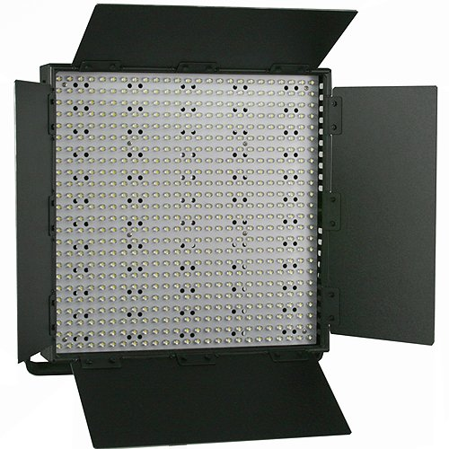600 LED Color Changing Photography Video Lite Panel BI COLOR LED Video Panel Sony V Mount adapter 110V - 230V -0