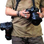 Double Digital DSLR CAMERA Quick Rapid Speed Camera Sling Strap Qucik Release Camera Neck Strap Strap2 -1409