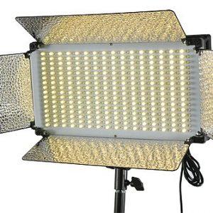 500 LED Light Panel V Mount Bi Color Led Light Panel Led Video Light Video Lighting By Fancierstudio FL500BI-0