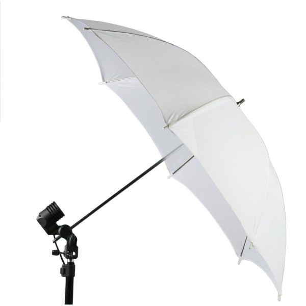 1000 Watt Lighting Kit With Backdrop Support System And 6'x9' Black White Muslin Backdrop K105 6x9BW-383