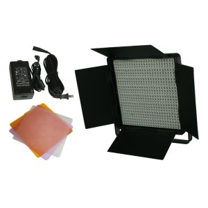 600 LED Video Lite Panel Studio Photography Lighting Sony V Mount, Dimmer Switch, 15V Output-1599