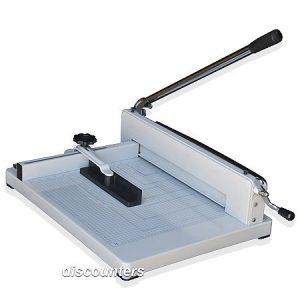 """Paper Cutter, paper cutter guillotine, guillotine paper cutter, guillotine cutter, guillotine paper trimmer, guillotine cutter paper, 17"""" guillotine paper cutter"""