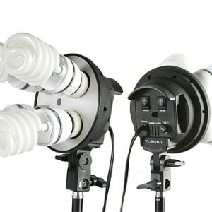 Fancierstudio Light Kit 2000 Watt Photo Video Lighting Kit with Hairlight Boomstand by Fancierstudio U9004SB-10x12BWG-569