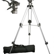 Professional 75mm Video Camera Tripod with Fluid Drag Head FT9901-95