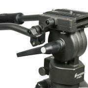Professional 75mm Video Camera Tripod with Fluid Drag Head FT9901-97