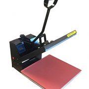 Digital Heat Press Industrial- 5-by-15-Inch Sublimation T-Shirt Heat Press, Black DG Heat Press-0