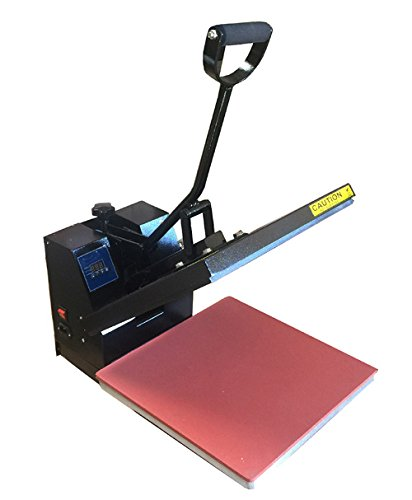 Digital Heat Press Industrial- 5-by-15-Inch Sublimation T-Shirt Heat Press, Black DG Heat Press-0