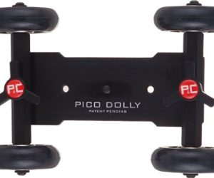 Pico Flex Skater Dolly DSLR Camera Floor Table Dolly Video Slider Track & Case by Fancierstudio PICODOLLY-603