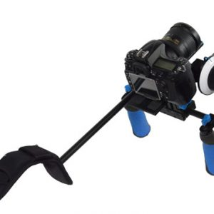 Camcorder Steady Shoulder Rig Follow Focus DSLR Video Cam Camera RL02FRSET-333