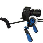 Camcorder Steady Shoulder Rig Follow Focus DSLR Video Cam Camera RL02FRSET-340