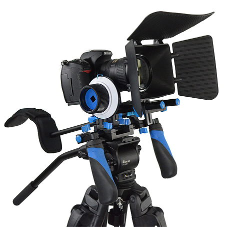 Fancierstudio DSLR RIG With Follow Focus And Matte Box By Fancierstudio FL02M-0