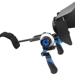 Fancierstudio DSLR RIG With Follow Focus And Matte Box By Fancierstudio FL02M-534