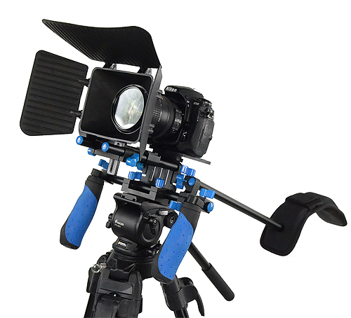 Fancierstudio DSLR RIG With Follow Focus And Matte Box By Fancierstudio FL02M-532