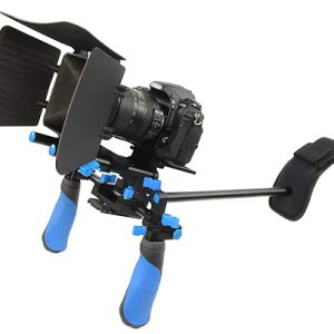 Fancierstudio DSLR RIG With Follow Focus And Matte Box By Fancierstudio FL02M-533
