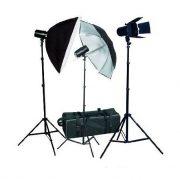 Fancierstudio PREMIUM Photography Studio Umbrella Softbox Lighting 3 Lights 3 Light Kit FAN023-471