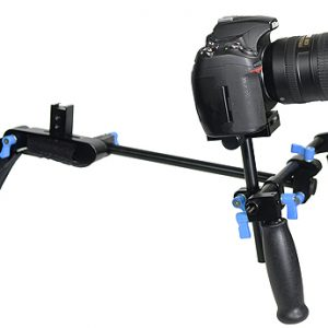 Fancierstudio DSLR RIG FTV-50 DSLR Rig Movie Kit Shoulder Rig Mount with 1 year warranty By Fancier dslr righ FTV50-546