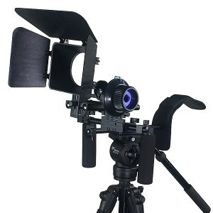 Fancierstudio DSLR RIG With Follow Focus Matte Box By New Model Fancierstudio FL02M-0