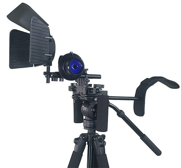 Fancierstudio DSLR RIG With Follow Focus Matte Box By New Model Fancierstudio FL02M-1703