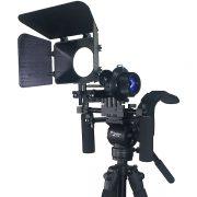 Fancierstudio DSLR RIG With Follow Focus Matte Box By New Model Fancierstudio FL02M-1706
