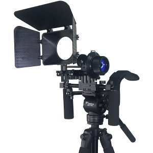 Fancierstudio DSLR RIG With Follow Focus Matte Box By New Model Fancierstudio FL02M-1706