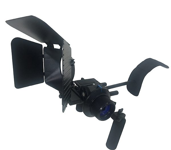 Fancierstudio DSLR RIG With Follow Focus Matte Box By New Model Fancierstudio FL02M-1702