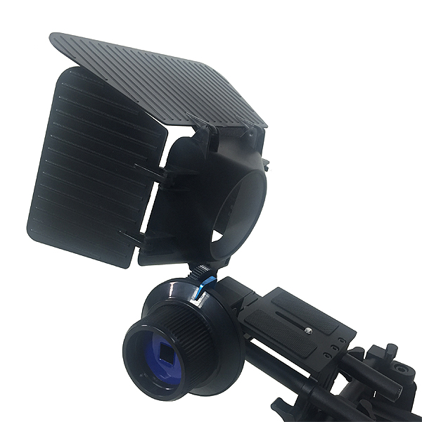 Fancierstudio DSLR RIG With Follow Focus Matte Box By New Model Fancierstudio FL02M-1704
